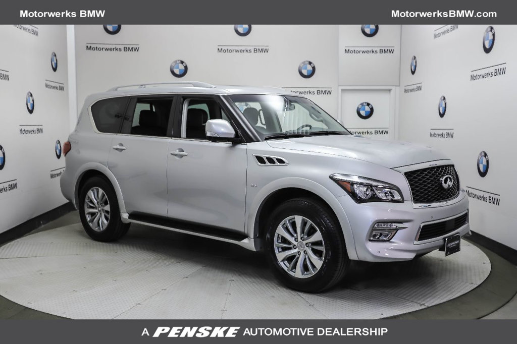 Pre-Owned 2017 INFINITI QX80 4DR AWD