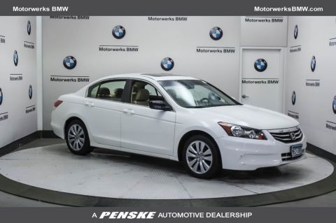 Pre-Owned 2011 Honda Accord Sedan 4dr I4 Automatic EX-L
