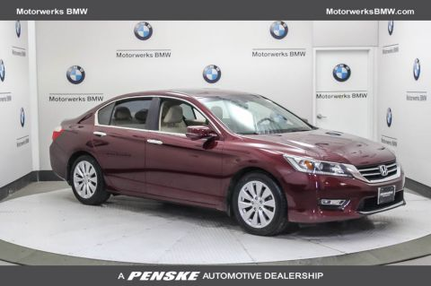 Pre-Owned 2013 Honda Accord Sedan 4dr I4 CVT EX-L