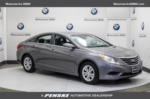 Pre-Owned 2013 Hyundai Sonata 4dr Sedan 2.4L Automatic GLS