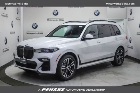New 2021 BMW X7 M50i Sports Activity Vehicle