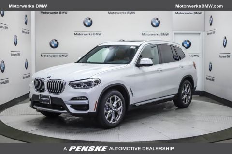 New 2021 BMW X3 xDrive30i Sports Activity Vehicle