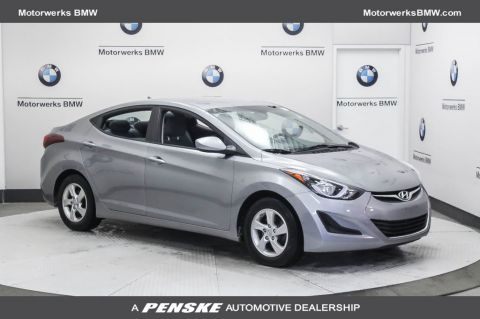 Pre-Owned 2015 Hyundai Elantra 4dr Sedan Automatic SE