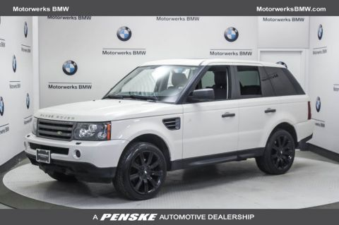 Pre-Owned 2009 Land Rover Range Rover Sport 4WD 4dr HSE