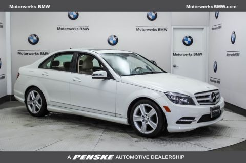 Pre-Owned 2011 Mercedes-Benz C-Class 4dr Sedan C 300 Luxury 4MATIC®